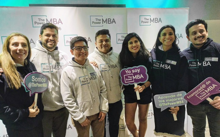 photocall evento thepowermba