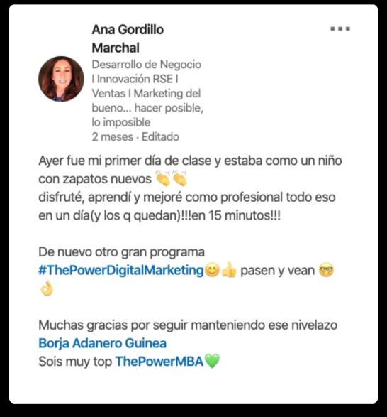 Ana Gordillo opinión