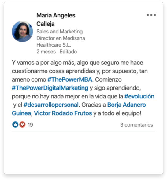 Maria Angeles opinión