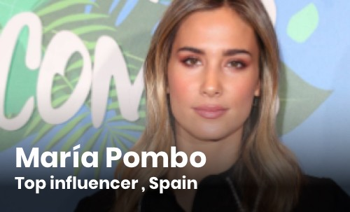 María Pombo Top Influencer